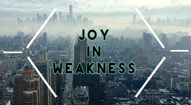 joy in weakness