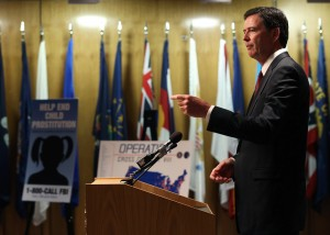 Image via USNews.com FBI Director James Corney