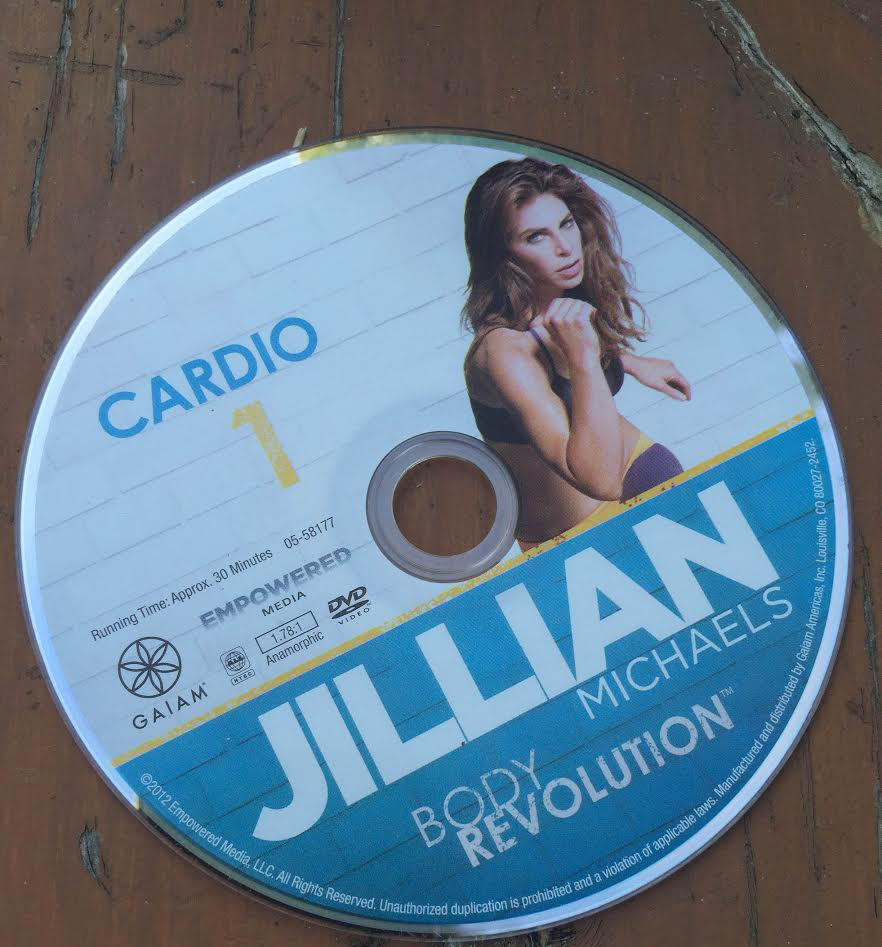 Jillian Michael's DVD's will help you get in shape and strengthen your whole body. Source:Kelsey Neier
