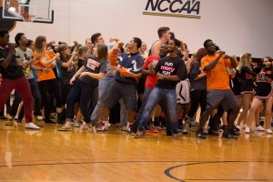 Fans dance during last season's Midnight Madness. Photo from Papyrus