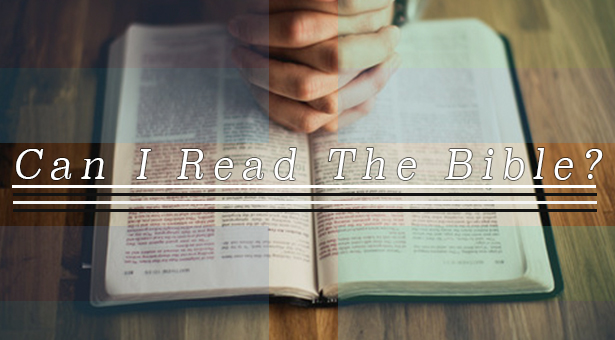 Can I Read The Bible? graphic