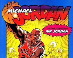 Michael Jordan, the true superhero athlete via jordansdaily.com