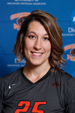 Marissa Erwin's Official Greenville Women's Volleyball image. Image by Greenville College.