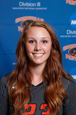 Hannah Baker's Official Greenville Women's Volleyball image. Image by Greenville College.