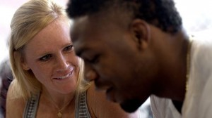 Holly Holm and Jones both are from Albuquerque, New Mexico. They used to both be old teammates.