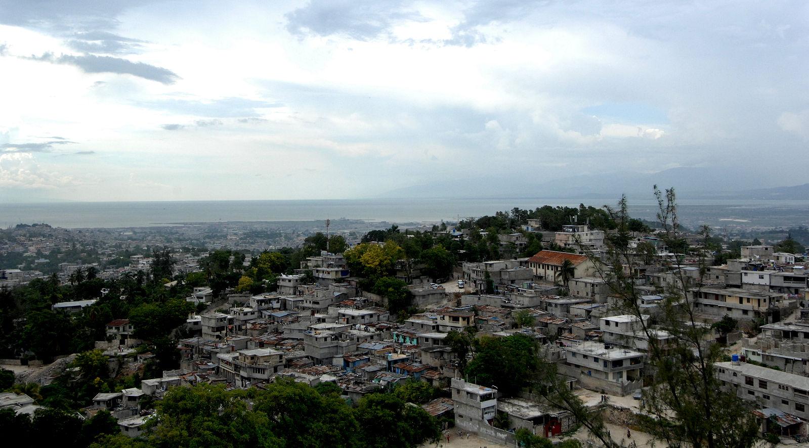 Port-au-Prince, Haiti. Source: https://commons.wikimedia.org