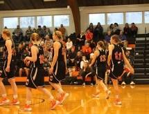 Women's Basketball Swats Away Millikin