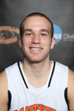 Senior Captain, Brian Ehresman's Official Greenville Basketball Photo. Image by Greenville College.