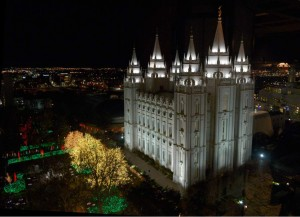 Image via sltrip.com Temple Square in Salt Lake City