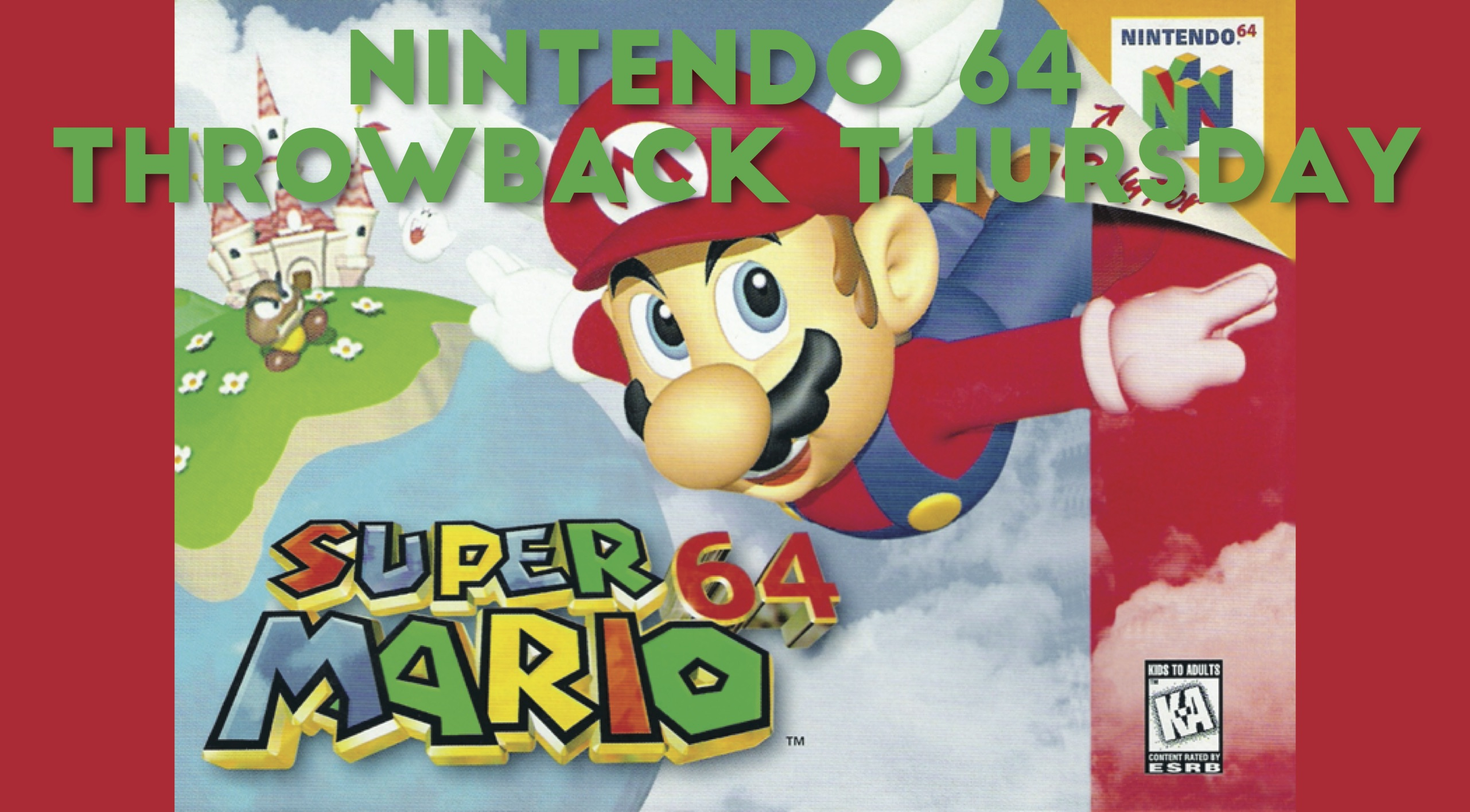 Nintendo 64 Throwback Thursday | Greenville University Papyrus