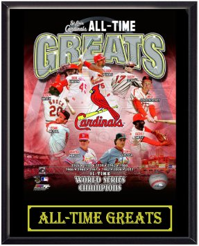 All-Time Greats of Cardinals history. Image from amazon.com