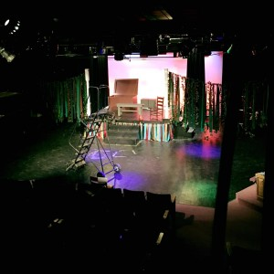 The Fantasticks set