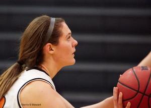 Missy Deal had two double-figure scoring games this week.  Photo by Darrin Stewart.