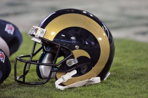 St. Louis Rams Football Helmet