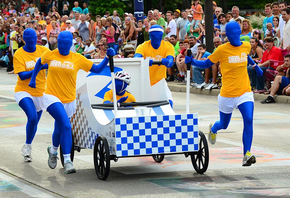 Weird Sport: Bed Racing