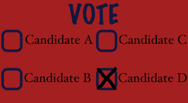 ballot graphic for voting