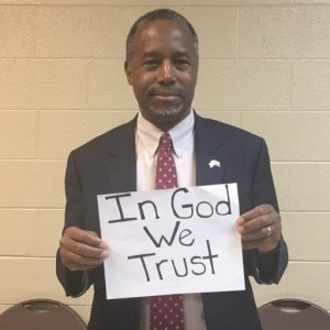 carson with in God we trust