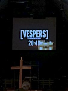 vespers countdown