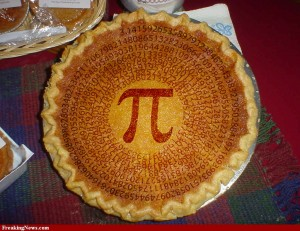 Pi in a Pie
