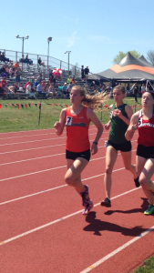 Brooke Goodyear finishing strong and fast. Image from Austin Brinkman
