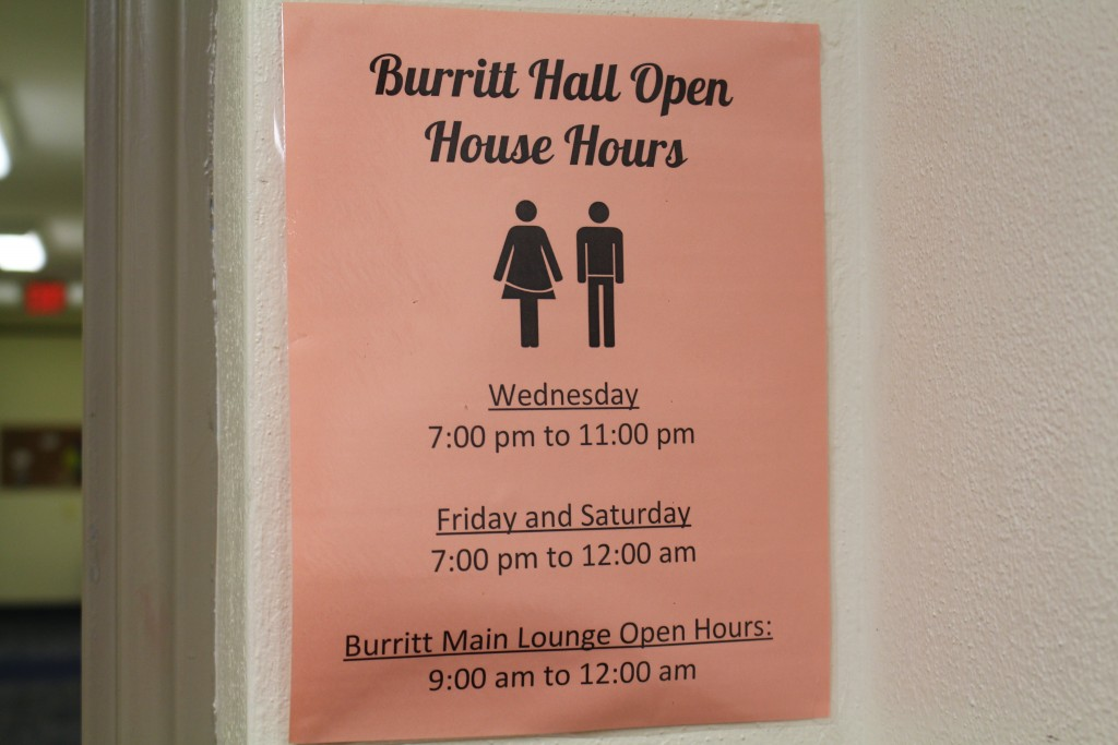 open dorm hours