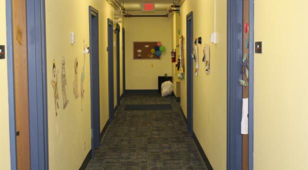 hall in Burritt