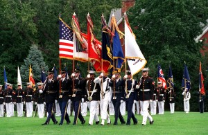 United States Military Color Guard