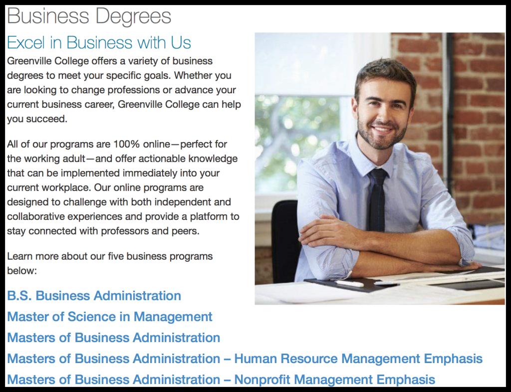 Business Master Program