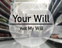 Your Will, Not Mine