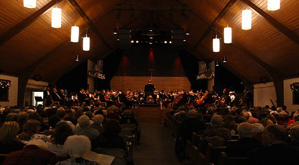 Greenville College Choral Union Performing Handel's Messiah