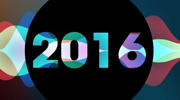 2016 in colorful letters with a black background.