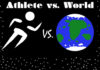 Athlete vs. World Logo