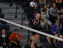 GU Spotlight: Allyson Mitchell & the Women's Volleyball Team