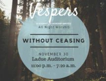 Coming Together in Worship: Without Ceasing