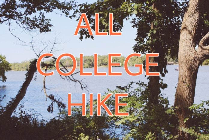 all college hike