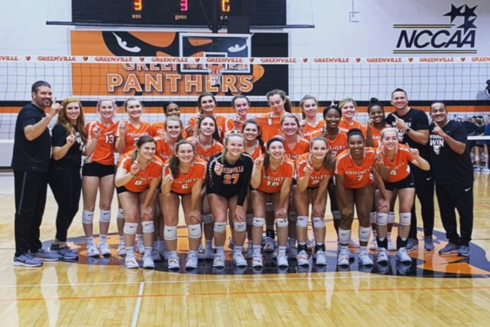 2019 St. Louis Intercollegiate Athletic Conference Champions, Greenville Women's Volleyball.
