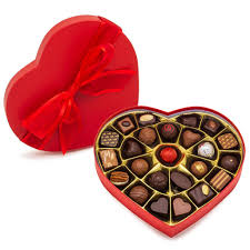 Image result for heart box of chocolates hd