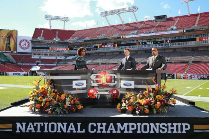 NCAA College Football Season. Media by ESPN