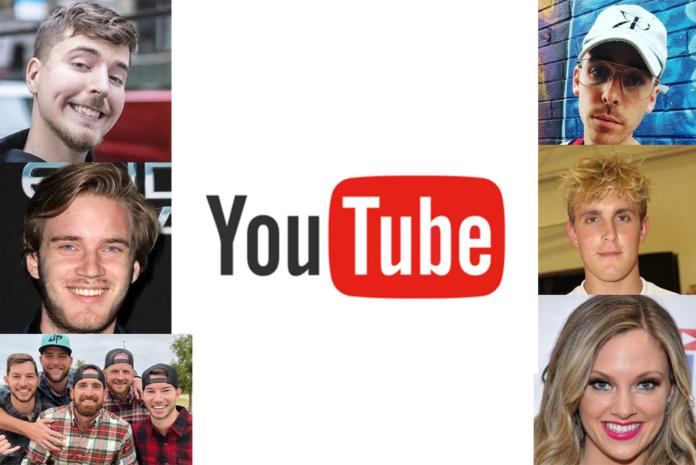 6 YouTubers
