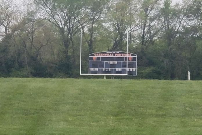 Image featuring the football field. Media by Wyatt Moser.